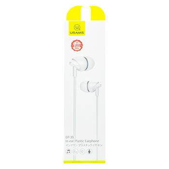 USAMS EP-39 In-Ear Stereo Headset 3,5mm White