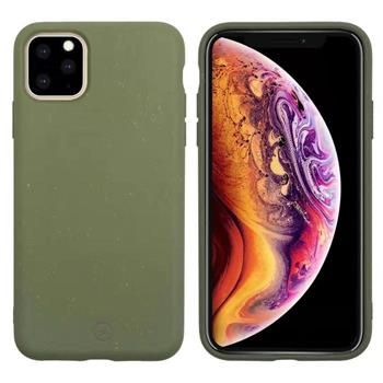 Muvit For Change Bambootek ECO Kryt pro Apple  iPhone 11 Pro Max Moss (ECO Blister)