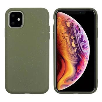 Muvit For Change Bambootek ECO Kryt pro Apple iPhone 11 Moss (ECO Blister)