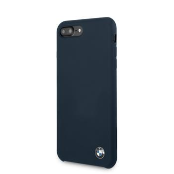 BMHCI8LSILNA BMW Silicone Hard Case Navy pro iPhone 8 Plus