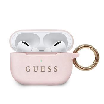 GUACAPSILGLLP Guess Silikonové Pouzdro pro Airpods Pro Light Pink