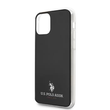 USHCN65TPUBK U.S. Polo TPU Small Horse Kryt pro iPhone 11 Pro Max Black