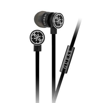 GUEPWIBK Guess Wire Stereo Headset Black (EU Blister)