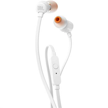 JBL T110 In-Ear Headset 3,5mm White (EU Blister)