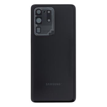 Samsung G988 Galaxy S20 Ultra Kryt Baterie Cosmic Black (Service Pack)