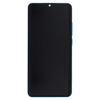 LCD Display + Dotyková Deska + Přední Kryt pro Xiaomi Mi Note10 (Pro) Green (Service Pack)