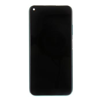 Huawei P40 Lite LCD Display + Dotyková Deska + Přední Kryt Crush Green (Service Pack)