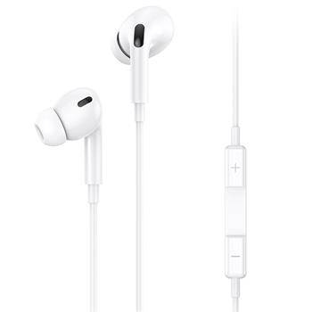 USAMS EP-41 In-Ear Stereo Headset Lightning 1,2m White