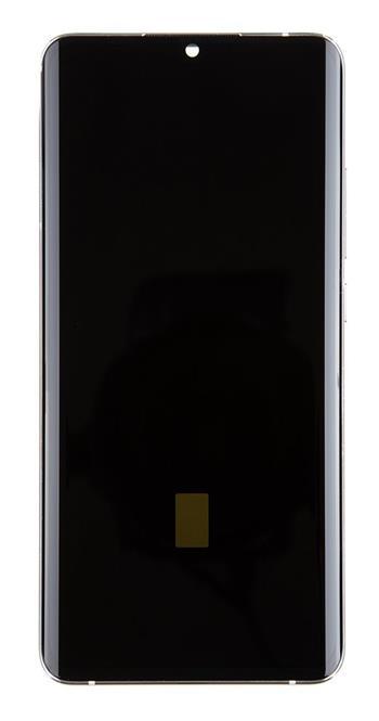 LCD Display + Dotyková Deska + Přední Kryt pro Xiaomi Mi Note 10 (Pro) White