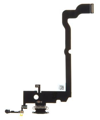 iPhone XS Max Flex Kabel vč. Dobíjecího Konektoru Black