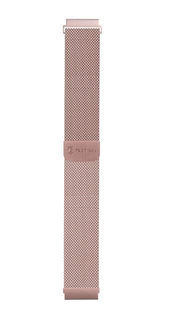 Tactical 634 Loop Magnetický Kovový Řemínek 20mm Rose Gold