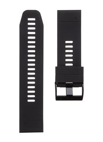 Tactical 668 Silikonový Řemínek pro Garmin Fenix 5X/6X QuickFit 26mm Black