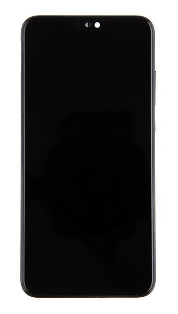 Honor 9X Lite LCD Display + Dotyková Deska + Přední Kryt Midnight Black