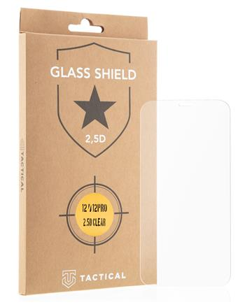 Tactical Glass Shield 2.5D sklo pro iPhone 12 / 12 Pro Clear