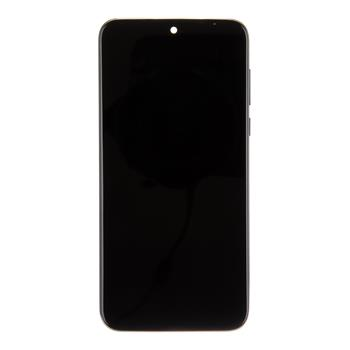 Motorola G8 Plus LCD Display + Dotyková Deska  + Přední Kryt Dark Blue (Service Pack)