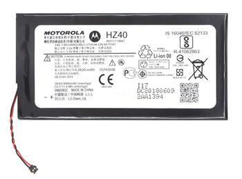 HZ40 Motorola Baterie 2820mAh Li-Pol (Service Pack)