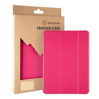 Tactical Book Tri Fold Pouzdro pro Lenovo Tab M10 FHD Plus 10,3 Pink