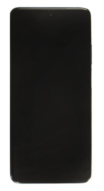 LCD Display + Dotyková Deska + Přední Kryt pro Xiaomi Mi 10T Lite Pearl Gray