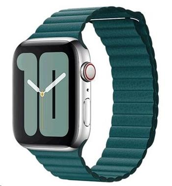 MXPN2ZM/A Apple Watch 44mm Peacock Leather Loop (Large)