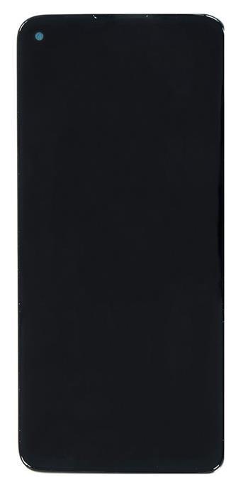 Motorola G9 Plus LCD Display + Dotyková Deska + Přední Kryt  Black (Service Pack)
