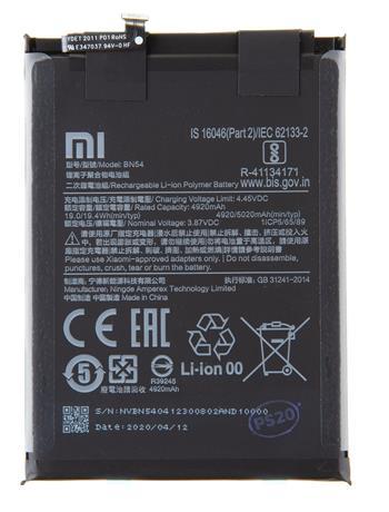 BN54 Xiaomi Original Baterie 5020mAh (Service Pack)