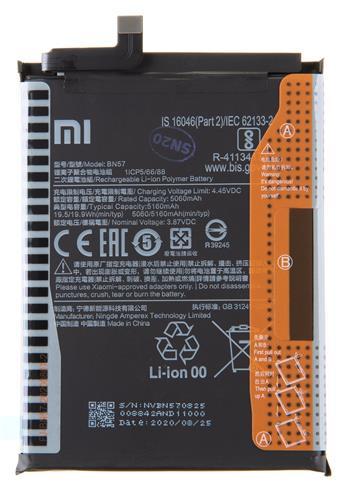 BN57 Xiaomi Original Baterie 5160mAh (Service Pack)