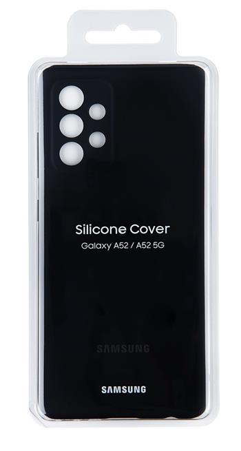 EF-PA525TBE Samsung Silikonový Kryt pro Galaxy A52 Black