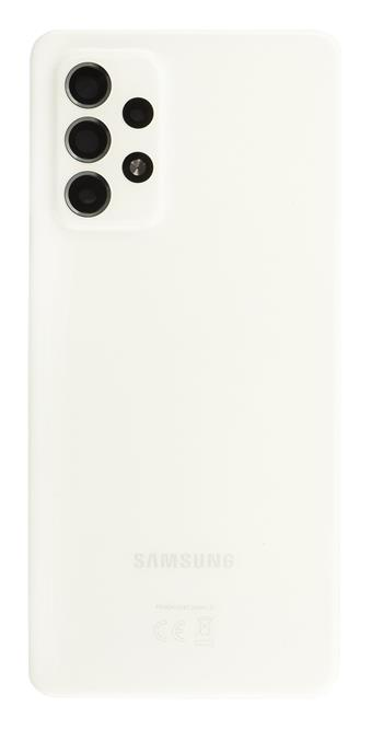 Samsung A526 Galaxy A52 5G Kryt Baterie White (Service Pack)