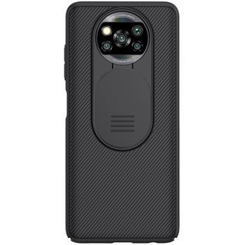 Nillkin CamShield Pro Zadní Kryt pro Xiaomi Poco X3 NFC/X3 Pro Black