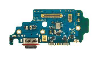 Samsung G998 Galaxy S21 Ultra Deska vč.Dobíjecího konektoru (Service Pack)
