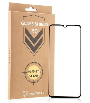 Tactical Glass Shield 5D sklo pro Motorola E7 Black