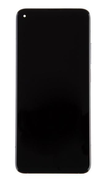 LCD Display + Dotyková Deska + Přední Kryt pro Xiaomi Mi 10T/Mi 10T Pro Black (Service Pack)