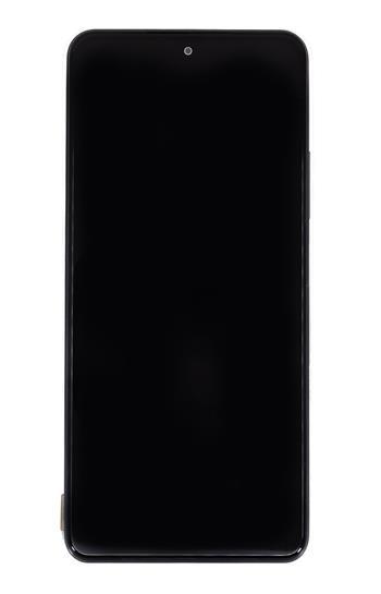 LCD Display + Dotyková Deska + Přední Kryt pro Xiaomi Poco F3 Black (Service Pack)