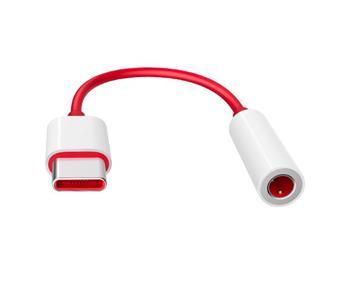 OnePlus Type-C to 3.5mm Adapter Red (Bulk)