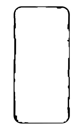 iPhone 12/12 Pro Lepicí Páska pro LCD Black