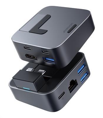Joyroom S-H121 J-Cube Dokovací Stanice pro MacBook Pro Space Gray