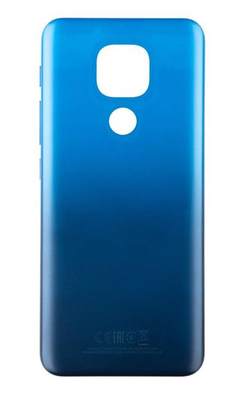 Motorola E7 Plus Kryt Baterie Navy Blue (Service Pack)