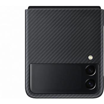 EF-XF711SBE Samsung Aramidový Kryt pro Galaxy Z Flip 3 Black